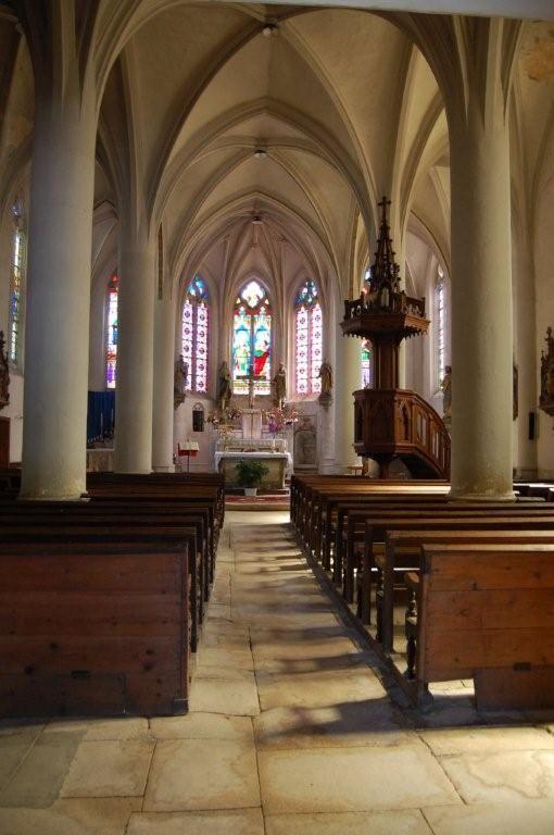 Eglise de Jouy-sous-les-Côtes