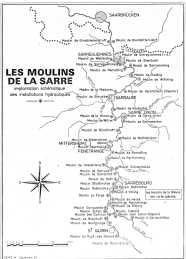 Les Moulins de la Sarre