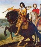 Louis XIII et Richelieu devant La Rochelle