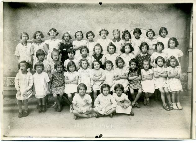 École de Boudonville - Juillet 1941