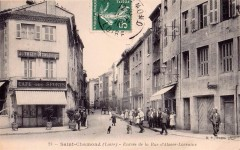 Saint-Chamond - Rue d'Alsace-Lorraine