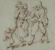 Famille de mendiants